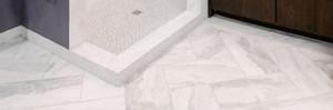 marble tile flooring install madera